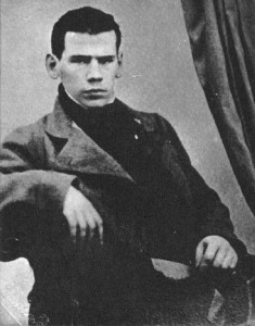 Young Leo Tolstoy