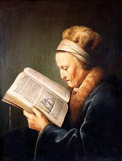 gerard_dou_-_portret_van_een_lezende_oude_vrouw